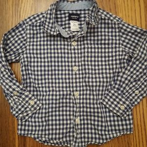 Carter's Baby Gingham Button Down